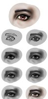 Step By Step Eye by LillyTalent