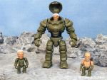 3D printed exosuit action figure 3 3/4 inch scale by hauke3000