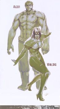 Commissh - Ager + Valids by kasai
