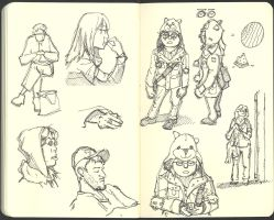 Sketchbook (2008/09): Page 21 by aka-Pencils