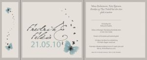 Wedding invitation by Melophonia