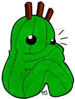 Cactuar Lovey Huggy Thing by fanchielover15