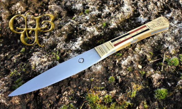 Late medieval flemisch knife reproduction by cybernuth