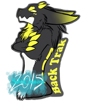 Attitude  |Wickerbeast Badge| by SafireCreations