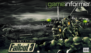 Fallout 3 Game Informer Cover by HilendDesign