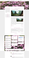 [1302] Blogger template by Mrs Black by Ruda9