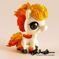 Ponyta from Pokemon custom LPS
