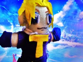 Plushie Tidus by Checker-Bee