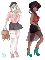 Cute Outfits-2 by Ale-Gil