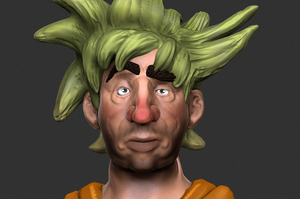 Zbrush Practice 2 by KidneyShake