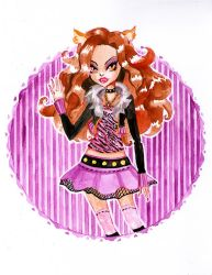 Clawdeen Wolf, Daugther of The Werewolf by Daisku