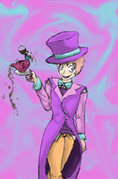 2p england mad hatter by MarlieNicole
