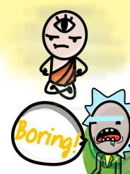Enlightenment is boring by nerddrawer