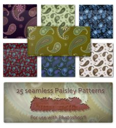 Paisley patterns by PeterPlastic