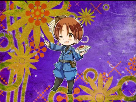 Hetalia Axis Power Italy by Ninjagirl16100