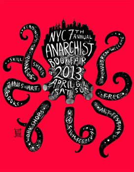 NYC Anarchist Book Fair by chove