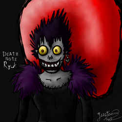 Ryuk Gift Art by SummerKittyGirl