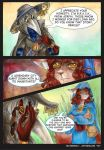 Waterway Afterglow pg. 16. by TiamatART