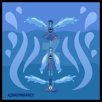 Lapis: Ocean and Sky by Azimuthmancy