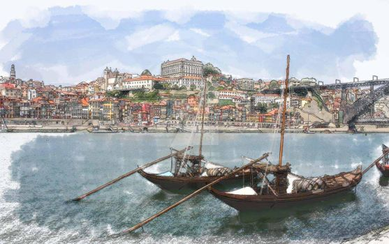 Oporto City - Portugal by akaPREDADOR