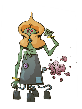 Flatwoods Monster by ThermalTheorist