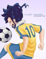 Tsurugi Kyousuke by Silent-Feather