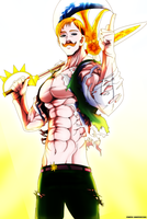 The one who stays at the top: Escanor by IIYametaII