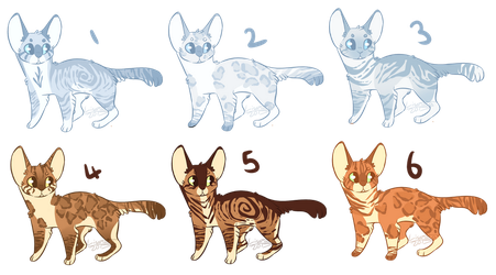CLOSED Cat Adoptables 0/6 left by oisinful