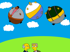CatFan180's Request - The Simpsons by inflationhub