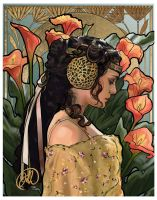 Art Nouveau Padme by juliaharrison