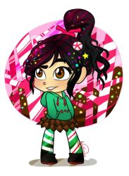 Wreck-it Ralph: Vanellope by Elena114
