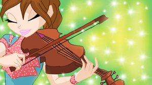 Winx_Club_Velarie_Playing_Violin by AngelineDeeMG