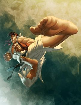 Street Fighter: RYU by Markovah