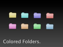 Colored Folders by user94