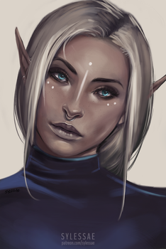 Pure Elves by sylessae