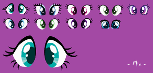 MLP Base 46: Eyes Base by StarDarkMLP