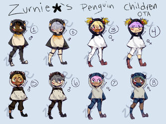 Penguin Children OTA [CLOSED] by Zurnie