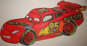 Cars 3: custom Lightning McQueen by sgtjack2016