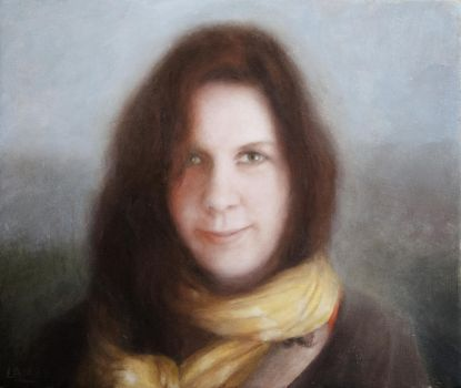 Rachel in scarf by rorsdors