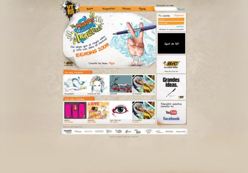 Bic VTbic website by diego64