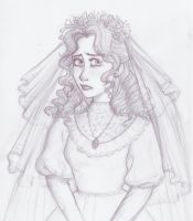The unfortunate bride by SerifeB