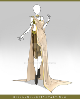 (CLOSED) Adoptable Outfit Auction 102 by JawitReen