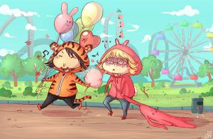 Tiger and Bunny: The Park by Sylenth