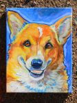 Pet Portrait Corgi 2 by jupiterjenny