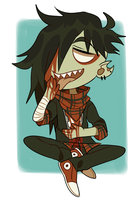 hey dude, you've got some blood in--ugh, nevermind by Pyro-Zombie