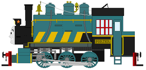 Porter the Dockside Tank Engine by DanielArkansanEngine