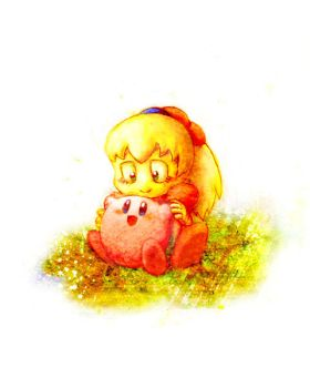 Kirby and Fumu by meeeeeeen
