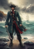 Captain Henry Hartgold (Silence is Gold) by sharandula