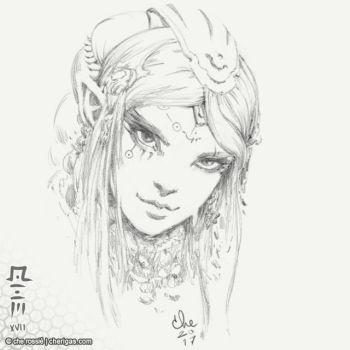 Elf sketch - aacs N1A by che-rigas