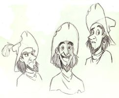 Clopin Expression Sketches by SuperRamen